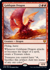 Goldspan Dragon - Foil