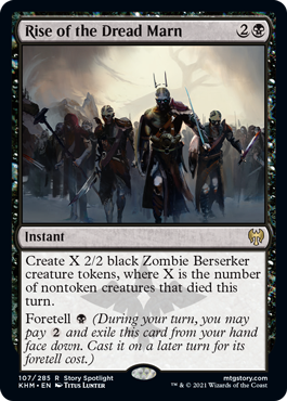 Rise of the Dread Marn - Foil
