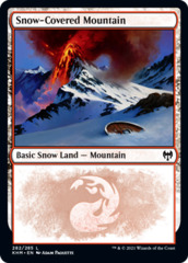 Snow-Covered Mountain (282) - Foil