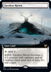 Faceless Haven - Foil - Extended Art