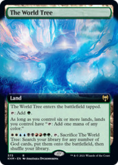 The World Tree - Foil - Extended Art