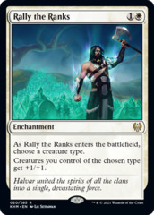 Rally the Ranks - Foil