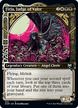 Firja, Judge of Valor - Showcase