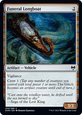 Funeral Longboat