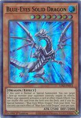 Blue-Eyes Solid Dragon (Green) - LDS2-EN014 - Ultra Rare - 1st Edition