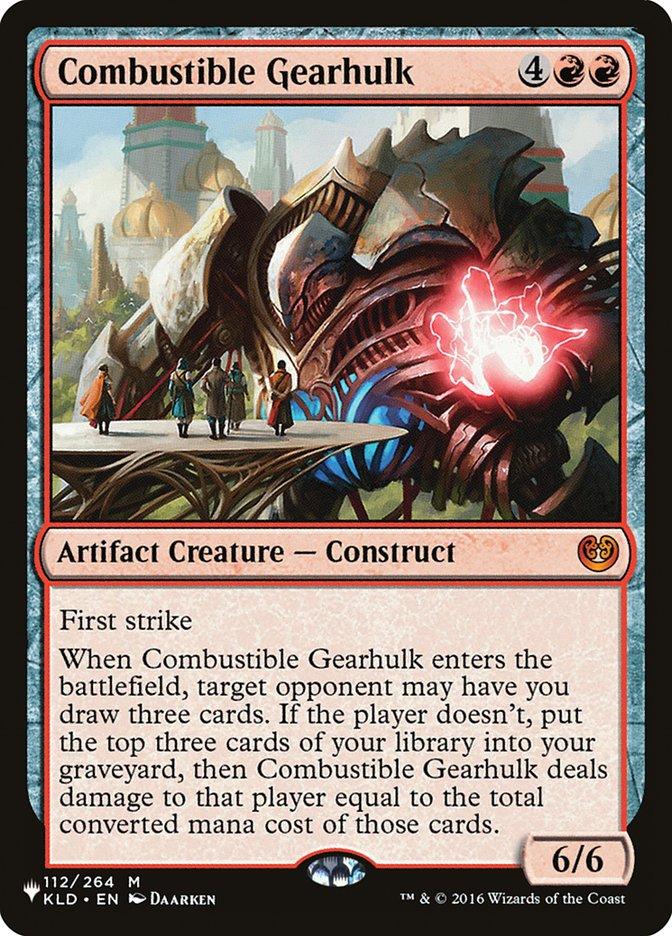 Combustible Gearhulk - The List
