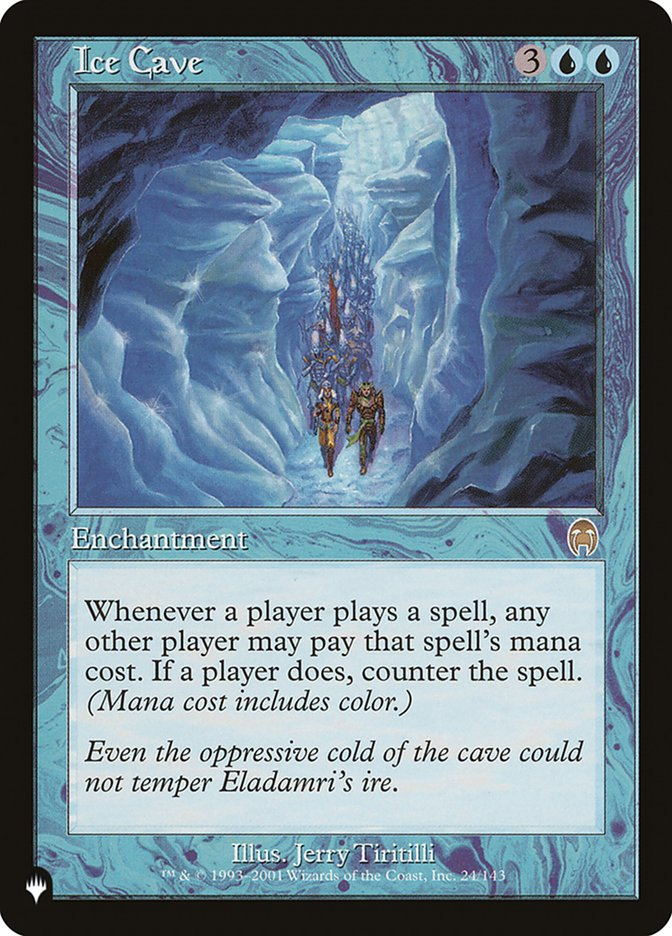 Ice Cave - The List
