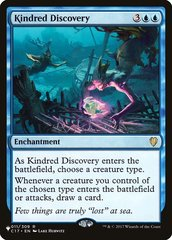 Kindred Discovery - The List