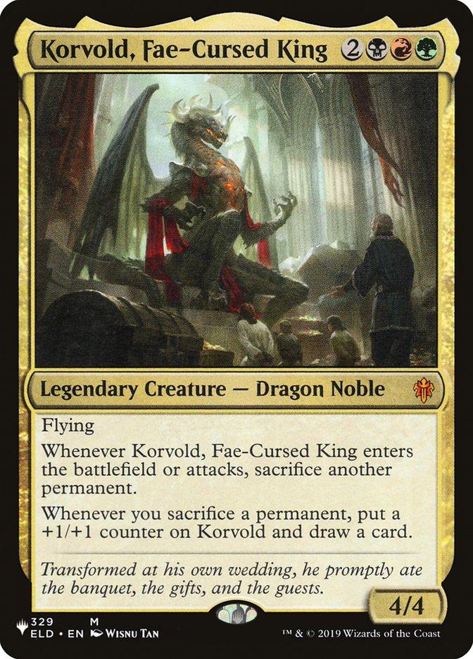 Korvold, Fae-Cursed King - The List