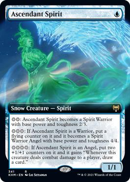 Ascendant Spirit - Foil - Extended Art