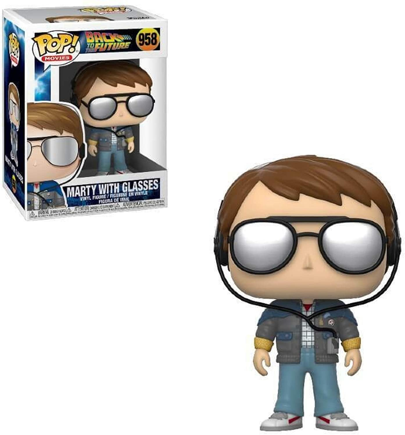 Movies Series - #958 - Marty with Glasses (Back to The Future)
