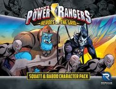 Power Rangers: Heroes of the Grid - Squatt & Baboo Character Pack