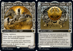 Reidane, God of the Worthy // Valkmira, Protector's Shield - Foil - Showcase