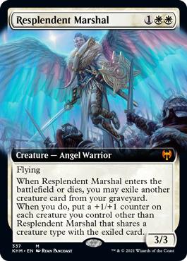 Resplendent Marshal - Foil - Extended Art