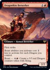Dragonkin Berserker - Foil - Extended Art