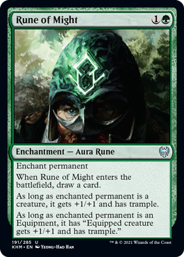 Rune of Might - Foil