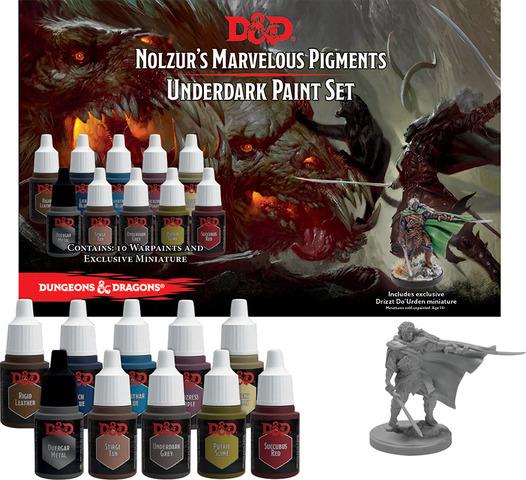Nolzurs Marvelous Pigments: Underdark Paint Expansion Set