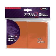 BCW Deck Guard: Elite2 Anti-Glare sleeves - Autumn (100ct)