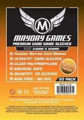 Mayday Games - Premium Yucatan Card Sleeves - Narrow 54x80mm 50 count