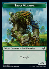 Troll Warrior Token
