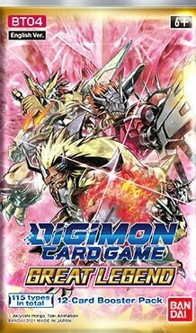 Digimon Card Game: Great Legend Booster Pack