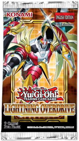Lightning Overdrive 1st Edition Booster Pack