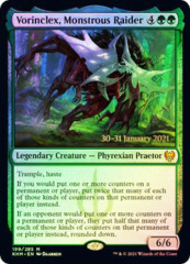 Vorinclex, Monstrous Raider - Foil - Prerelease Promo