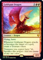 Goldspan Dragon - Foil - Prerelease Promo