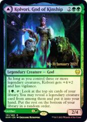 Kolvori, God of Kinship // The Ringhart Crest - Foil - Prerelease Promo