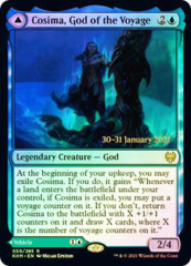 Cosima, God of the Voyage // The Omenkeel - Foil - Prerelease Promo