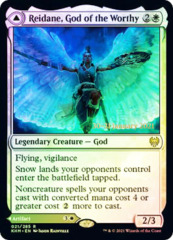 Reidane, God of the Worthy // Valkmira, Protector's Shield - Foil - Prerelease Promo