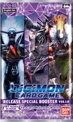 Digimon Card Game: Release Special Booster Pack D Version 1.0