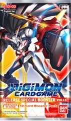 Digimon Card Game: Release Special Booster Pack B Version 1.5