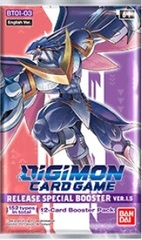 Digimon Card Game: Release Special Booster Pack D Version 1.5