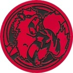 Arcanine Collectible Coin - Red Mirror Holofoil (Generation 1)