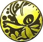 Celebi Collectible Coin - Green Non Holofoil (Generation 3)