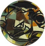 Blastoise Collectible Coin -Gold Cracked Ice Holofoil (Generation 5)