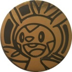 Chespin Collectible Coin - Gold Mirror Holofoil (Generation 6)