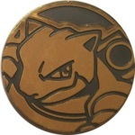 Blastoise Collectible Coin - Gold Mirror Holofoil (Generation 6)