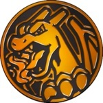Charizard Collectible Coin - Orange Mirror Holofoil (Generation 7)