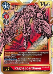 RagnaLoardmon - BT3-019 - SR - Alternative Art
