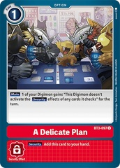 A Delicate Plan - BT3-097 - U