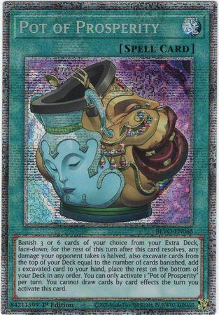 Pot of Prosperity - BLVO-EN065 - Starlight Rare - 1st Edition