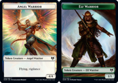 Angel Warrior Token // Elf Warrior Token - Foil