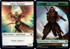 Angel Warrior Token // Elf Warrior Token - Foil (KHM)