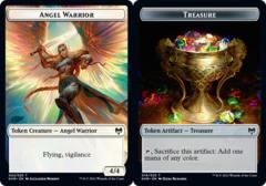 Angel Warrior Token // Treasure Token - Foil