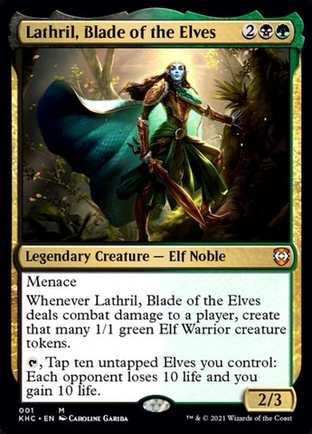 Lathril, Blade of the Elves - Collector Pack Exclusive