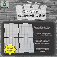 Dry Erase Dungeon Tiles - Combo Pack of Thirty Six 5