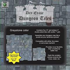 Dry Erase Dungeon Tiles - Combo Pack of Five 10