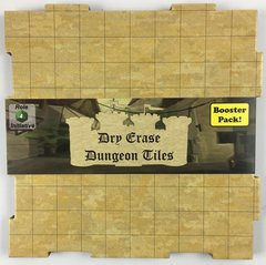 Dry Erase Dungeon Tiles - Booster Pack - Earthtone